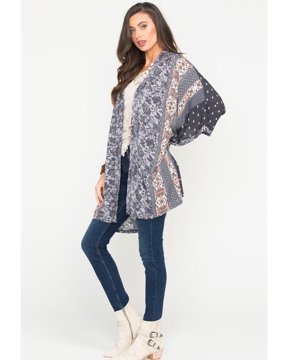 Sage The Label Women's Joscelin Kimono , Purple, hi-res
