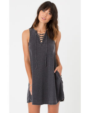 Z Supply All Tied Up Dress, Black, hi-res