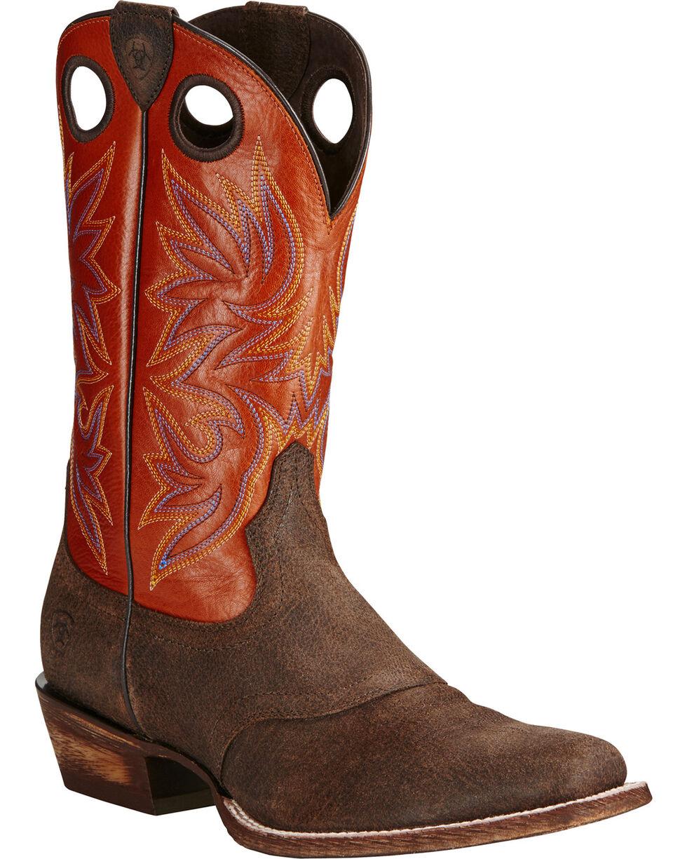 Ariat Men's Circuit Striker Western Boots, Chocolate, hi-res