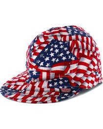 American Worker Men's USA Flag Welding Cap, , hi-res