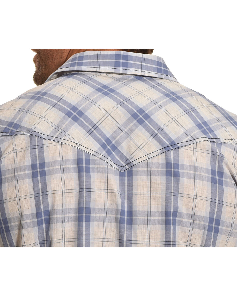 Cody James Men's Silver Legacy Plaid Long Sleeve Shirt, , hi-res