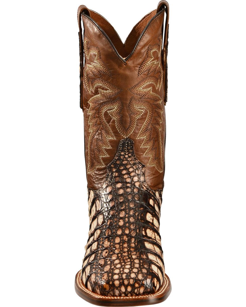 Dan Post Men's Cowboy Certified Everglades Caiman Boots, Camel, hi-res