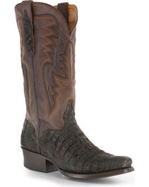 El Dorado Men's Caiman Square Toe Western Boots, , hi-res