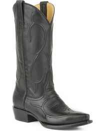 Stetson Women's Carly Black Western Boots - Snip Toe, , hi-res