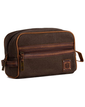 STS Ranchwear Canvas Foreman Shave Kit, Brown, hi-res
