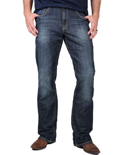Wrangler Men's Retro Relaxed Fit Boot Cut Jeans , Indigo, hi-res