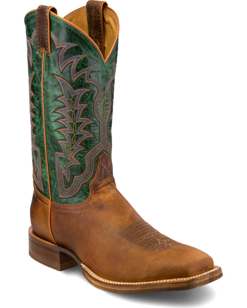 Justin Men's Hidalgo Western Boots, Cognac, hi-res