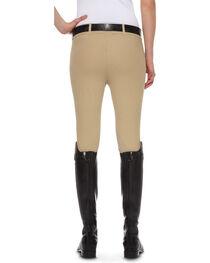 Ariat Women's Heritage Knee Patch Side-Zip Breeches, , hi-res
