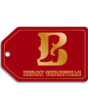 Boot Barn Christmas Gift Tag eGift Card, No Color, hi-res