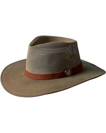 Outback Unisex UPF Oilskin Mesh Kodiak Hat, , hi-res