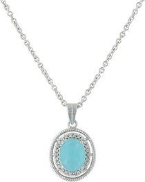 Montana Silversmiths Women's Haloed Summer Skies Necklace , , hi-res