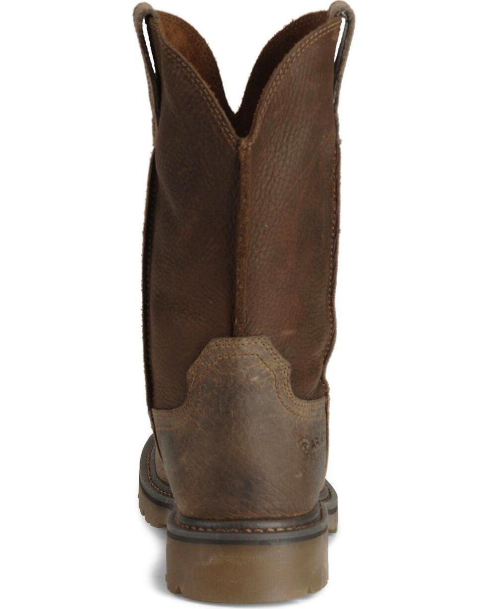 Ariat Men's Rambler Steel Toe Work Boots, Earth, hi-res