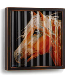 Big Sky Carvers Horse Head Corrugated Metal Art, , hi-res