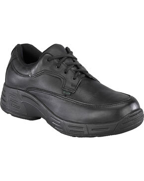 Florsheim Women's Postal Oxford Shoes - USPS Approved, Black, hi-res