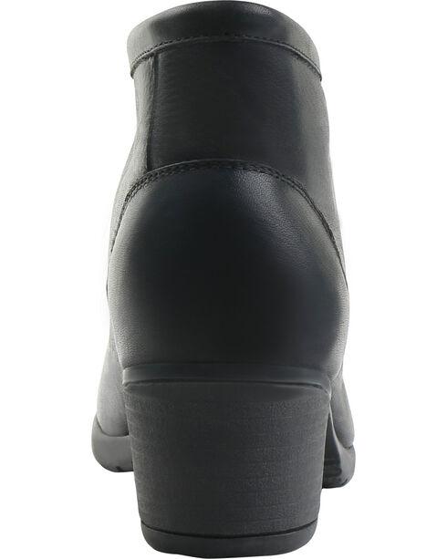 Eastland Women's Black Alexa Lace-Up Booties, Black, hi-res
