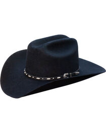 Silverado Men's Clay Structured Wool Western Hat , , hi-res