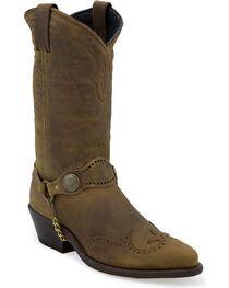 Sage Boots by Abilene Men's Longhorn Wingtip Western Boots, , hi-res