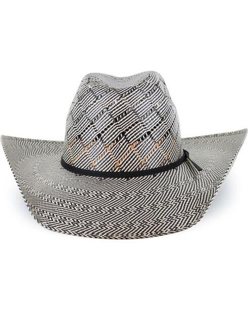 Cody James® Men's 50X Vented Straw Hat, Black, hi-res