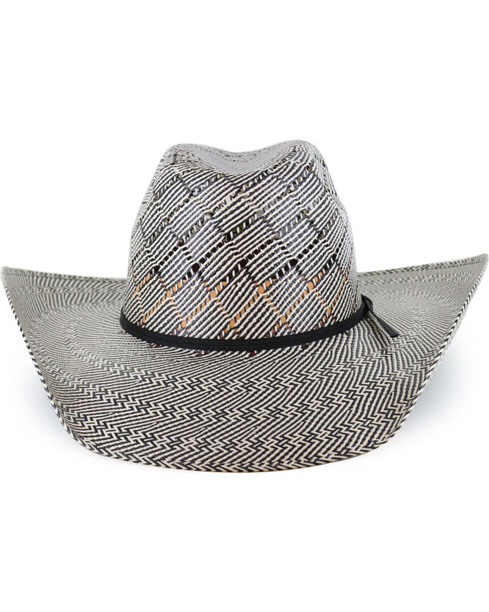 Cody James® Men's 50X Vented Straw Hat, Black, hi-res