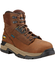 "Ariat Mastergrip 6"" H2O Work Boots, , hi-res"