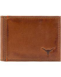 Jack Mason Men's University of Texas Campus Flip Bifold Wallet, , hi-res