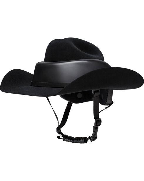 Resistol RideSafe Helmet Cowboy Hat, Black, hi-res