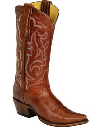 Corral Embroidered Cowgirl Boots - Snip Toe, , hi-res
