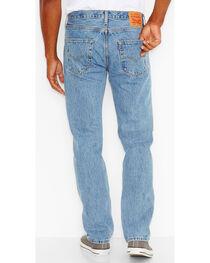 Levi's Men's 501 Original Fit Stonewashed Jeans, , hi-res