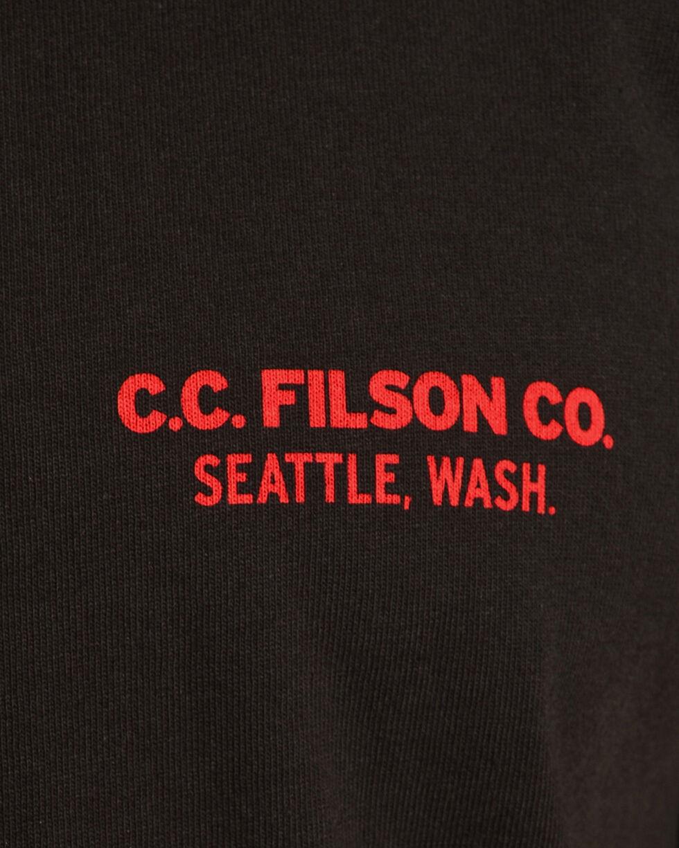 Filson Men's Black Outfitter Graphic T-Shirt , Black, hi-res