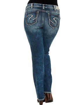 Silver Jeans Women's Plus Size Suki Boot Cut Jeans , Indigo, hi-res