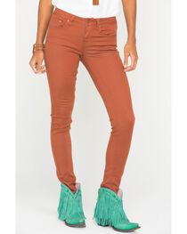Wrangler Women's Premium Patch Skinny Jeans, , hi-res