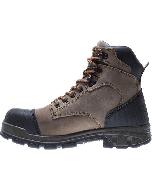 Wolverine Men's Blade Waterproof Work Boots, Brown, hi-res