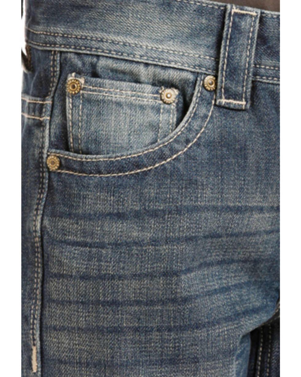 Rock & Roll Cowboy Boys' BB Gun Regular Fit Jean, Indigo, hi-res