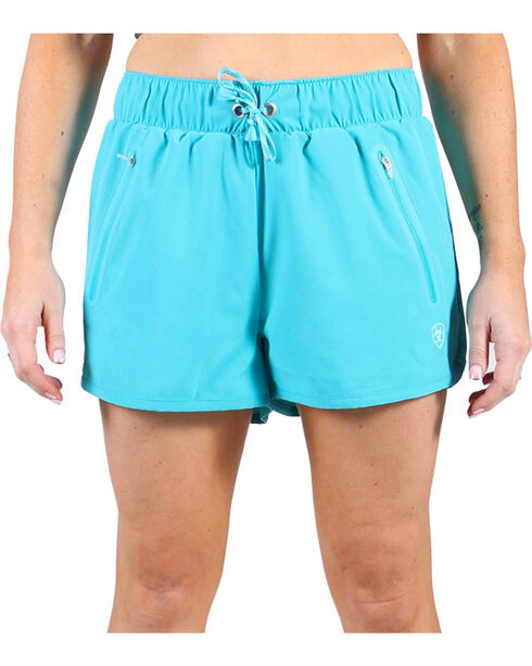 AriatTek Women's Mesa Active Shorts, Blue, hi-res