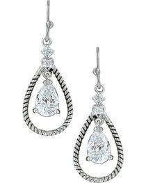Montana Silversmiths Women's Catch the Rain Earrings , , hi-res