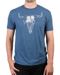 Cody James® Men's Steer Skull Short Sleeve T-Shirt, , hi-res