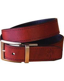 Browning Men's Brown Reversible Belt , , hi-res