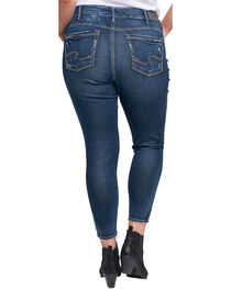 Silver Women's Avery Ankle Jeans - Plus, , hi-res