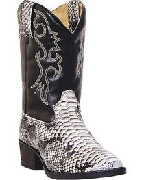 Laredo Youth Snake Pit Print Western Boots, , hi-res