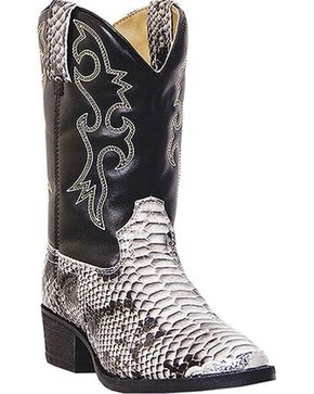 Laredo Youth Snake Pit Print Western Boots, Snake Print, hi-res