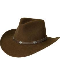 Black Creek Acorn Men's Crushable Wool Hat, , hi-res