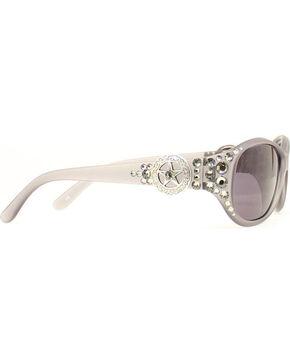 Blazin Roxx Star Crystal Sunglasses, Grey, hi-res