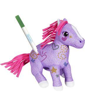 Breyer Scribbles Color and Wash Pony, No Color, hi-res