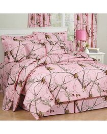 Realtree All Purpose Pink Twin Comforter Set, , hi-res