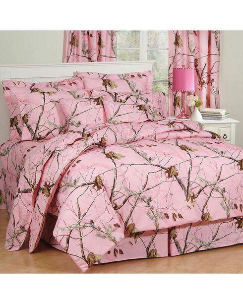 Realtree AP Pink X-L Twin Comforter Set, Pink, hi-res