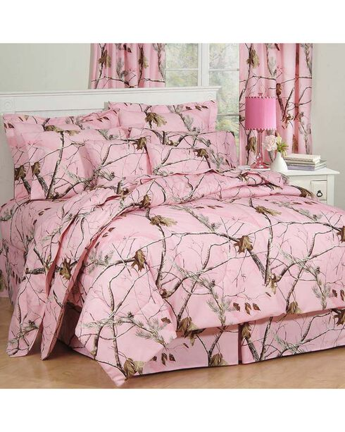 Realtree AP Pink Full Comforter Set, Pink, hi-res