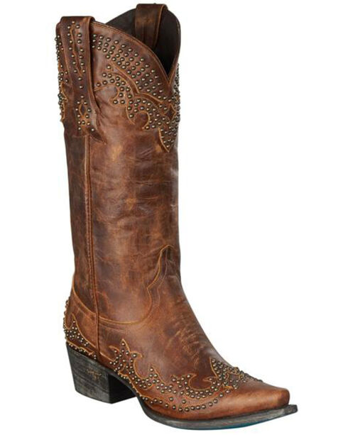 Lane Women's Stephanie Western Fashion Boots, Brown, hi-res