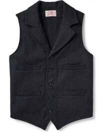 Filson Men's Wool Western Vest, , hi-res