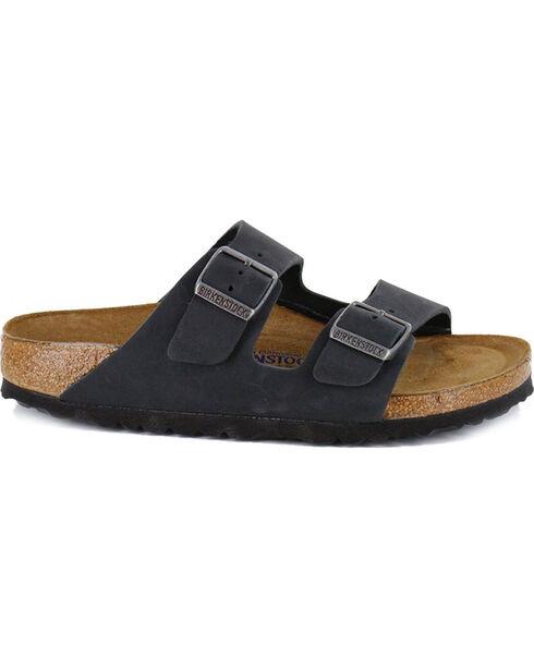 Birkenstock Women's Arizona Soft Footbed Sandals, Black, hi-res