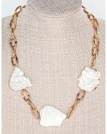 Everlasting Joy Jewelry Women's Cream Piece Of My Heart Necklace , , hi-res